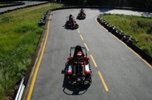 Quarter-mile Go-kart Track